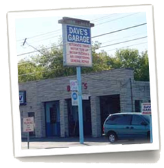Daves Garage Inc, your one stop auto repair shop